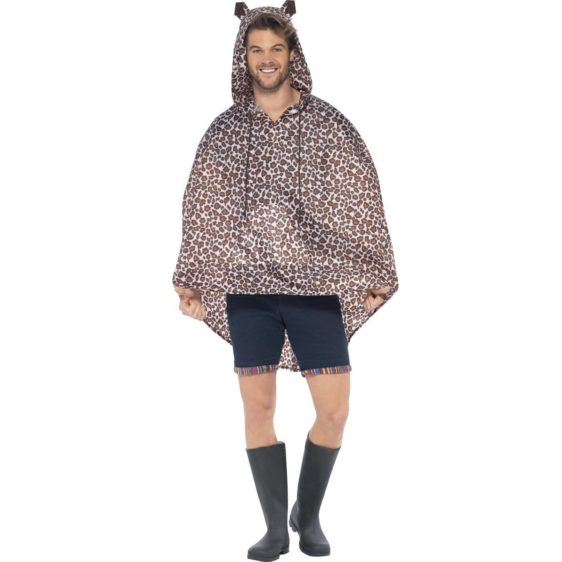 Partyponcho leopard
